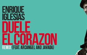 Enrique Iglesias ft. Arcángel, Javada - DUELE EL CORAZON Remix [Lyrics]