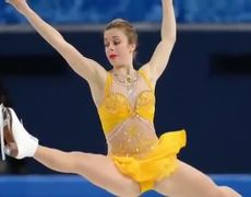 Viral Reaction Ashley Wagner joins Crowd Goes Wild