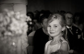 Girl is a prodigy with photography for weddings