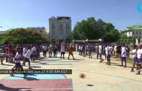 Shaquille O'Neal Visits the Cuban Capital