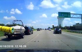 #VIDEO: Accidente en Motocicleta