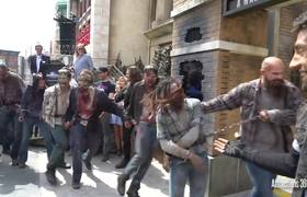 Opening Ceremony of The Walking Dead Attraction at Universal Studios Hollywood