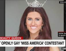 News - First openly gay Miss America contestant speaks out