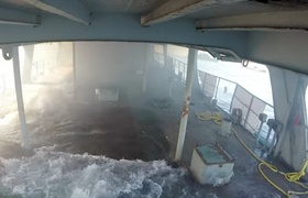 #GoPro - Cameras captured from inside a sinking ship in Baja California