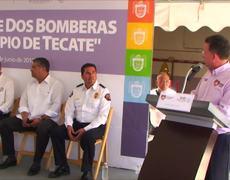 Entrega de Bomberas a Municipio de Tecate - Ayuntamiento de Tijuana
