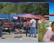 CNTE sigue con bloqueos en Oaxaca, Chiapas y Guerrero