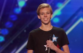 AGT 2016 - Cody The Twirler: 14-Year-Old Puts a Fun Spin on Baton Twirling