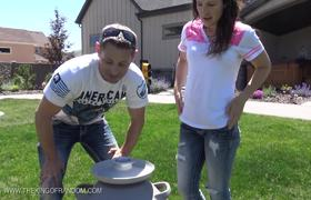 Filling Giant Balloons with Liquid Nitrogen!