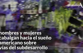 """""""Montar La Bestia"""", exposición sobre migrantes"""