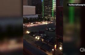 La protesta disparando contra la policia en Dallas (Resumen en 60 Segundos)