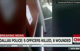 #VIDEO: Se escuchan los disparos en Dallas en una escuela cercana