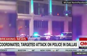 #DallasShooting: Caos tras balacera en contra de oficiales