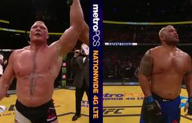 #UFC 200: Brock Lesnar - Octagon FULL Interview