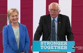 Bernie Sanders Endorses Hillary Clinton [FULL SPEECH]