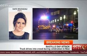 73 dead in Nice, France, after truck plows into crowd
