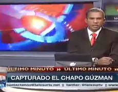 Mexican drug lord El Chapo Guzman is arrested