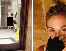 #VIDEO Playboy model upload picture of naked woman in the gym and mocks their physical