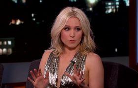 "Jimmy Kimmel Live!: Kristen Bell on the ""Frozen"