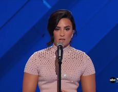Demi Lovato Talks About Mental Illness at Democratic National Convention