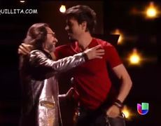 Premios Lo Nuestro 2014 Enrique Iglesias y Marco Antonio Solis El Perdedor