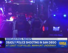 Raw - Police Officers Shot in San Diego