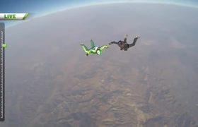 Skydiver Sets World Record For Highest Jump Without Parachute