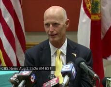 El gobernador de Florida Rick Scott: Tratando de Controlar el Zika