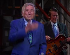 Tony Bennett performs