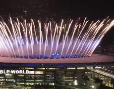 #Rio2016 Olympics Games Opening Ceremony FireWorks!!!!