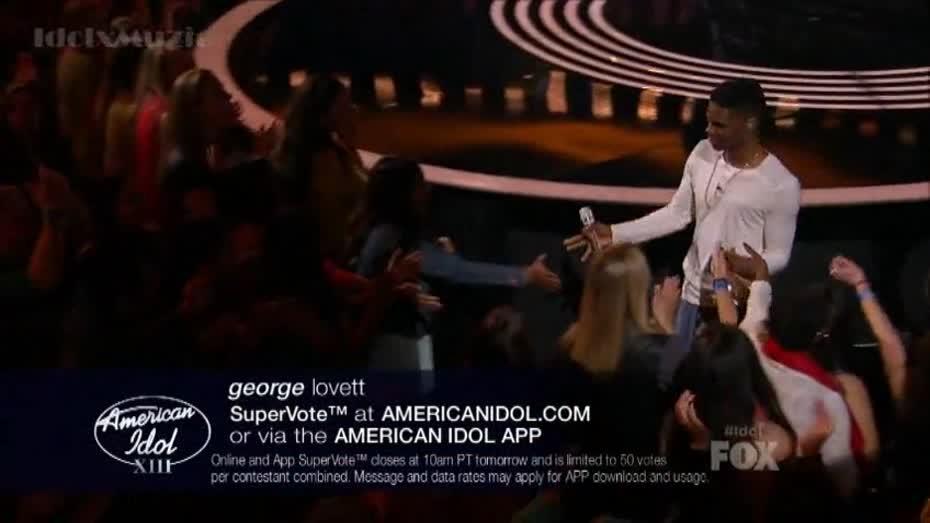 American Idol 2014 George Lovett Grenade Rush Week