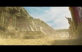 BEN HUR Movie Clip - Chariot Race (2016)
