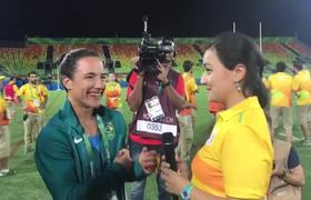 Brazil Women's Rugby Player Accepts Olympic Marriage Proposal