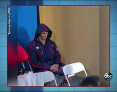 MEME PhelpsFace - Michael Phelps Gives Death Stare to Olympic Opponent