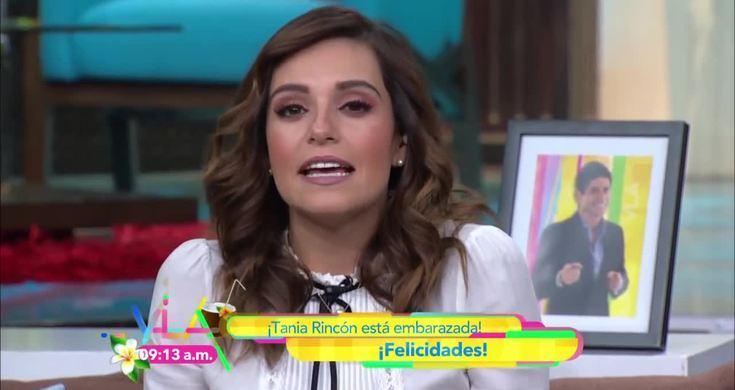 Venga La Alegria: Tania Rincón Anuncia Embarazo