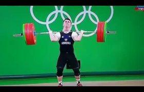 #VIRAL - Terrible injury during weightlifting #Rio2016