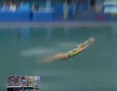 #Rio2016 - Terrible mistake of Russian Olympic diver obtained as rating 0.0