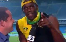 Usain Bolt canta 'One Love' de Bob Marley tras ganar el oro