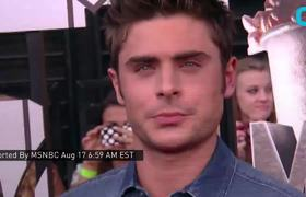 Olympic Gymnast Simone Biles Gets Surprise Visit from Zac Efron