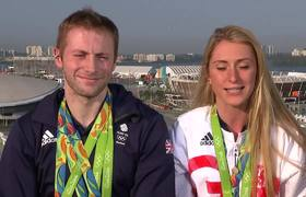 Rio 2016: Laura Trott 'can't deal' when fiance Jason Kenny competes (Interview)