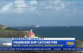 News - Fire Forces Passengers to Abandon Ship