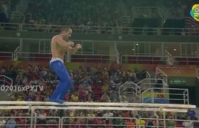 U.S. Gymnast Danell Leyva Makes Sexy Dance At Río 2016