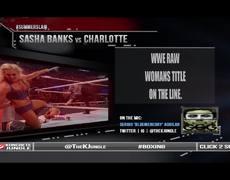 WWE SUMMERSLAM 2016 | SASHA BANKS vs CHARLOTTE