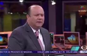 César Duarte molesto en entrevista con Carlos Loret de Mola