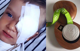 #Hero - Olympian to auction silver medal for sick boy