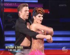 DWTS 2014 Sadie Vs Bethany Dance Off Cha Cha Season 19 Week 8