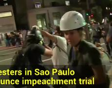 Update On Brazil President Rousseff's Impeachment Trial