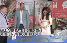 Prince William and Kate tour Cornwall