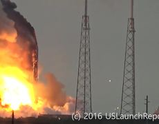 #VIRAL - SpaceX rocket explodes in Cape Canaveral platform