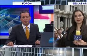 Miles esperan a #JuanGabriel en Bellas Artes