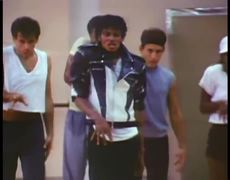 Michael Jackson's Thriller Rehearsal